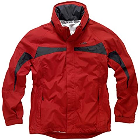 Gill Mens Inshore Lite Jacket Red IN31J Sizes- -