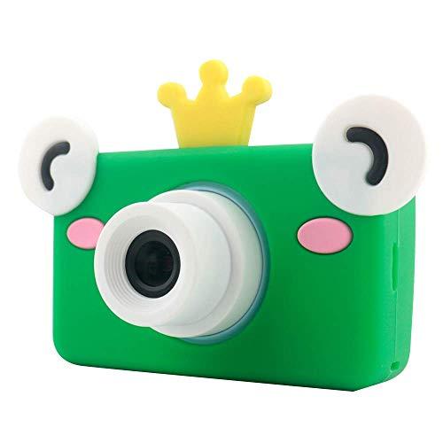 Xwly-Dr Kids Digital Videokameras 2,0 Zoll 8 Megapixel Micro USB wiederaufladbare Children Anti-Drop-Kamera Jungen Mädchen,Green