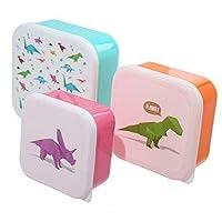 St@llion Plastic Set of 3 Lunch Box For Kids Inspires Children, Especially Little Boys