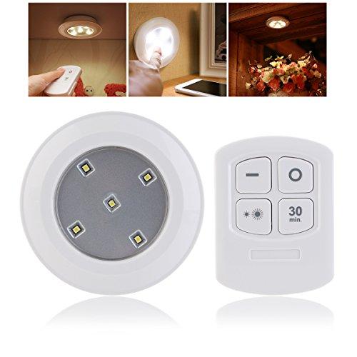 Zwei Wand-waschmaschinen-licht (UEETEK Nacht Licht LED Push Licht Touch Lampe Nachtlicht mit Aktivierung Erforderliche Fernbedienung)