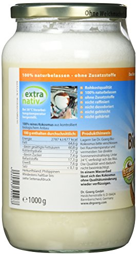 Dr. Goerg Premium Bio-Kokosmus, 1er Pack (1 x 1 kg) - 4