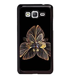 Fuson Premium 2D Back Case Cover Floral Pattern With Multi Background Degined For Samsung Galaxy Grand Prime G530h