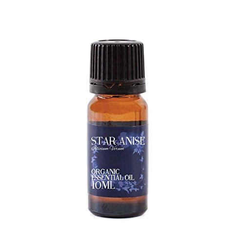 Mystic Moments Anís Estrellado Aceite Esencial Orgánico - 10ml - 100% Puro