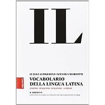 Vocabolario della lingua latina + Guida, Edizione senza CD