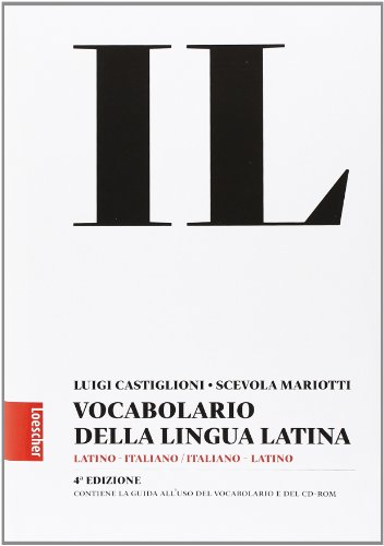 Vocabolario della lingua latina + Guida