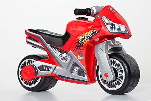 MOLTÓ Molto-Casco Moto Premium, Colore: Rosso, 12221