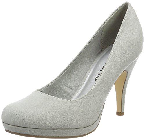 Tamaris 22407, Zapatos de Tacón para Mujer, Gris (Grey), 40 EU