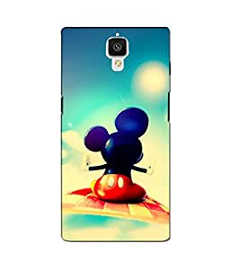 Crazymonk Premium Digital Printed 3D Back Cover For One Plus 3