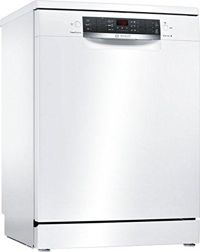 Bosch Serie 4 SMS46IW03E Autonome 13places A++ lave-vaisselle - Lave-vaisselles (Autonome, Blanc, Taille maximum (60 cm), Noir, Blanc, boutons, 1,75 m)