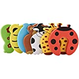 Cuttlefish Baby Proofing Child Baby Safety Finger Pinch Foam Door Stopper. Door Slam Guard to Prevent Injury … (Pack of 3)