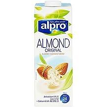 Alpro Dairy bebida gratis almendra Longlife 1L (Pack de 1ltr)