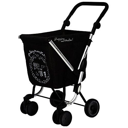 Playmarket 24975/236 We Go Chariot de Loisir Sac Polyester/Inox Gris 70 x 35 x 35 cm