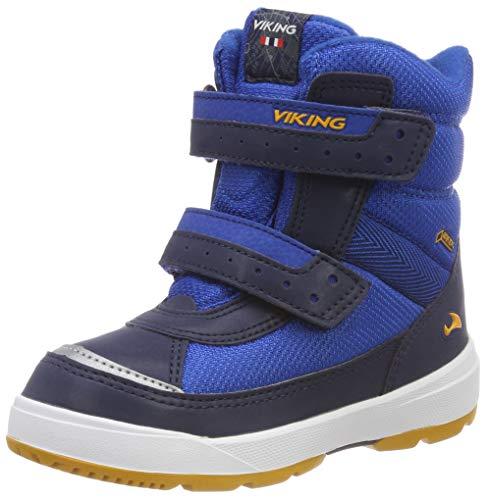 Viking Unisex-Kinder Play II R GTX Outdoor Fitnessschuhe, Blau (Reflective/Blue 2735), 26 EU