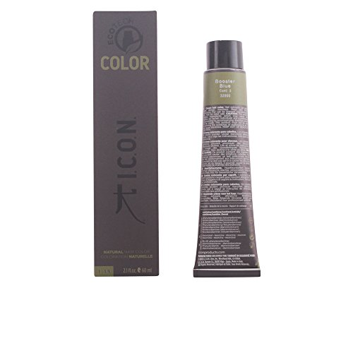 I.C.O.N. Ecotech Color Colorazione Permanente, Unisex, Blue - 60 ml