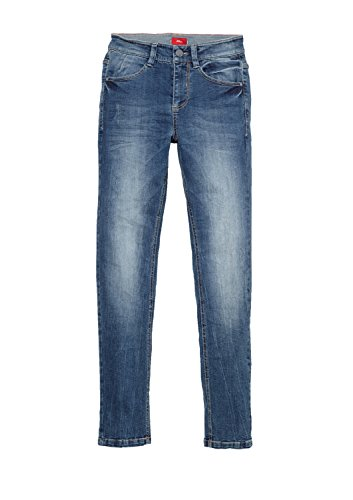 s.Oliver RED LABEL Junior Jungen Skinny Seattle: Superstretch-Jeans blue denim 158.REG (Label Red Jungen)