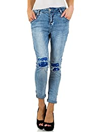 Mozzaar Destroyed Boyfriend Jeans Für Damen bei Ital-Design
