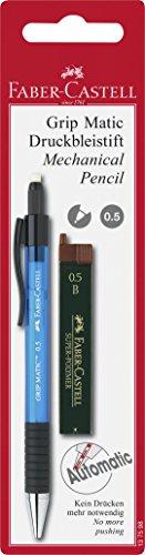 Faber-Castell Grip 05 - Blíster portaminas + minas - Faber Castell Portaminas Grip Matic 0.5 + Minas B