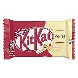 Kitkat White Snack con Wafer Ricoperto di Cioccolato Bianco – 3 Snack da 41.5 gr