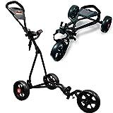 LONGRIDGE Chariot de Golf 3 Roues Junior 4-14 Ans EzeGlide Cruiser