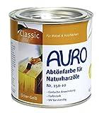 AURO Abtönfarbe für Naturharzöle, Erd-Schwarz - Nr. 150-99 - 0,375 Liter