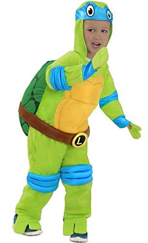 TMNT Teenage Mutant Ninja Turtles Leonardo One-Piece Jumpsuit - Kinder Kostüme Splinter