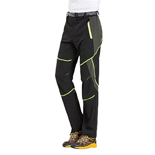 Byqny leggeri pantaloni softshell da trekking da arrampicata esterni all'aperto uomo funzione quick dry pantalone impermeabili antivento