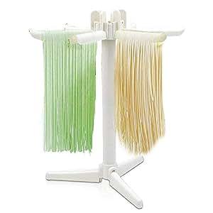 Nai-Style Teigwaren-W/äschest/änder Nudeltrockner Haushaltsnudeltrockner Plastik-zusammenklappbare Nudeln-h/ängendes Gestell-Haushalts-Nudeln die St/ützstand trocknen