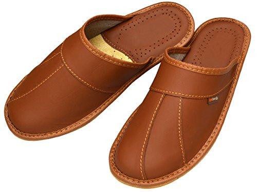 BeComfy, Pantofole uomo Marrone