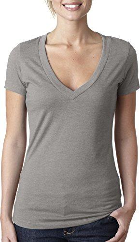 Next Level - T-shirt - Femme gris