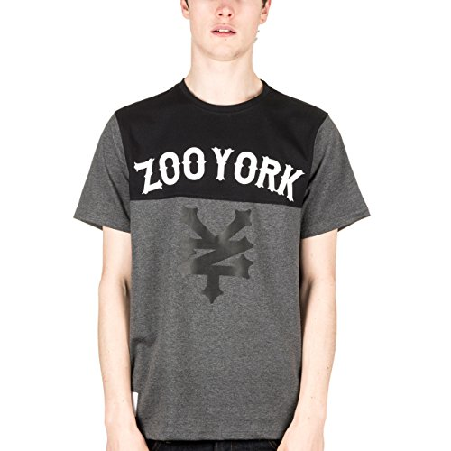 zoo-york-waverly-tee-heather-charcoal-anthracite-medium