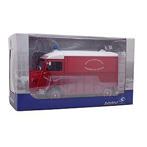 1969 Citroen Type HY Pompier France Rojo 1:18 Solido 1850013