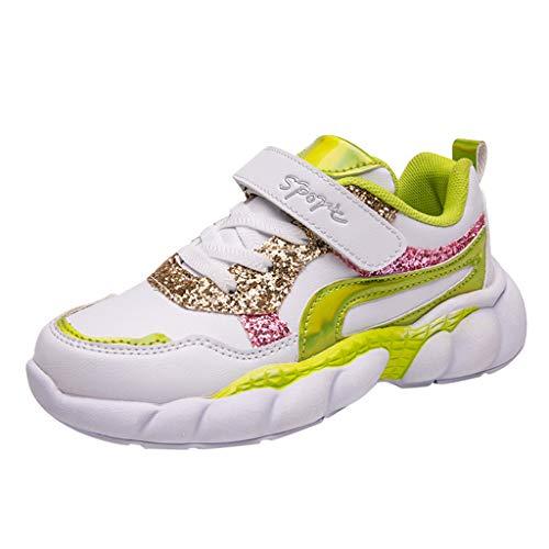 LILIGOD Jungen Mädchen Leichte Freizeitschuhe Mode Lässig Atmungsaktiv Kinderschuhe Outdoor-Sportschuhe für große Kinder Neue Kontrastfarbe Sneaker Schuhe rutschfeste Laufschuhe