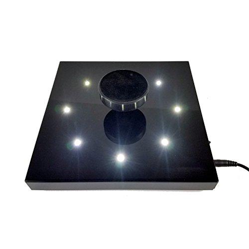Grundlage Elektromagnetische 400g Slim mit LEDs-Schwarz -