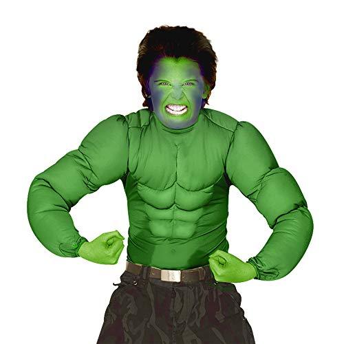 Widmann - Kinderkostüm Muskelshirt (Kinder Hulk Outfit)