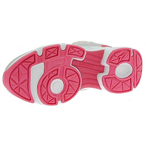 Diadora 101.171269, Scarpe con Velcro Bambini Grigio