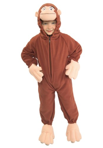 Toddler Curious George Fancy dress costume Small