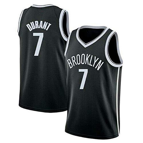 J-Met Herren-Basketballtrikots, NBA Brooklyn Nets #7 Kevin Durant Sommerwesten Oberteile Ärmellose T-Shirts (Größe: S-XXL)