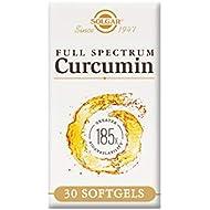 Solgar Full Spectrum Curcumin Softgels, Pack of 30