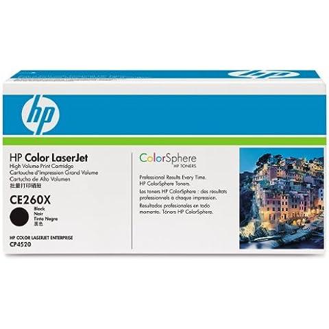 Hewlett Packard CE260XC Toner Laser, Nero