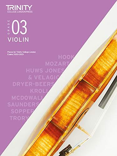 Trinity College London Violin Exam Pieces 2020-2023: Grade 3
