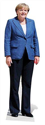 empireposter Angela Merkel Pappaufsteller Pappfigur Standy - ca 164 cm