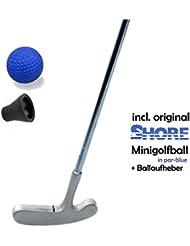 Mini Golf Juego Kids – Boy – 3 piezas (con original Shore Mini pelota de golf equipo de fútbol) y mini golf de Pick-up