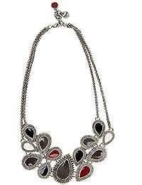 Desigual - Collar de metal (15 cm)