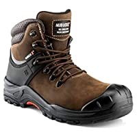 Buckler NKZ102BR Safety Lace Composite Toe Cap Safety Boots (9)