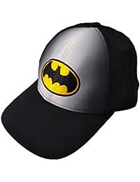 Krystle Unisex Stretchable Cotton Fabric Batman Baseball Cap Best Quality Two In One Colour Stylish Latest Snapback Adjustable Strap Cap