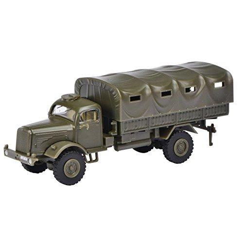 Preisvergleich Produktbild Schuco 452625300 - Mercedes Benz LG 315 BW, geschlossen, Maßstab 1:87, Militärfahrzeug