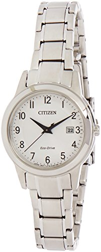 Citizen Watch Women's Analogue Solar Powered Stainless Steel Strap FE1081-59B