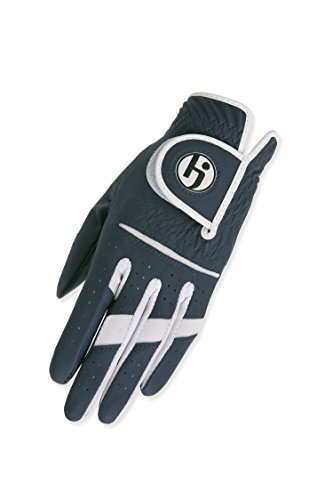 HJ Damen Handschuh Linke Hand Greifer II GOLF HANDSCHUH, navy, Medium/Large Womens Gripper Gloves