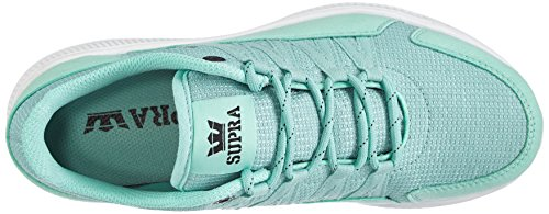 Supra Owen, Baskets Basses mixte adulte Turquoise - Türkis (COCKATOO - WHITE   CCK)