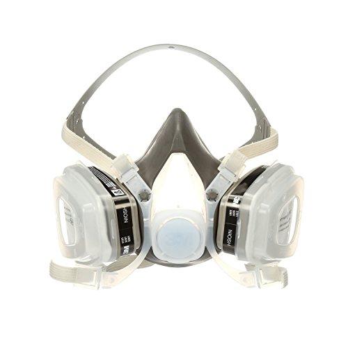 Dual Cartridge Respirator Assembly 52P71, Organic Vapor/P95, Medium, Sold as 1 Each - Dual Cartridge Respirator
